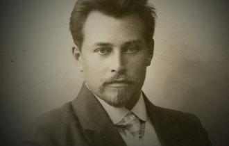 Alexej Wangenheim vor seiner Verhaftung.