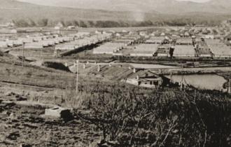 Baracken soweit das Auge reicht - das Gulag-System hatte gewaltige Ausmaße.
