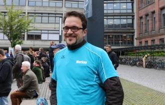 Markus, Projektleiter und Wissenschaftler am Fraunhofer-Institut für Physikalische Messtechnik (IPM), ist gegen alternative Fakten, sowohl in der Wissenschaft als auch privat.