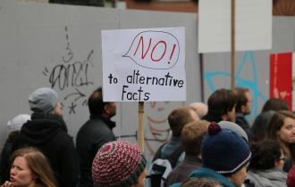 Nein zu alternativen Fakten.