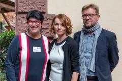 Die Veranstalter der Russischen Kulturtage 2017: Prof. h.c. Dr. Dr. h.c. Elisabeth Cheauré, Margarita Augustin und Achim Könneke