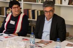 Zusammenarbeit von Uni und Stadt: Prof. h.c. Dr. Dr. h.c. Elisabeth Cheauré und OB Dr. Dieter Salomon bei der Pressekonferenz zu den Russischen Kulturtagen