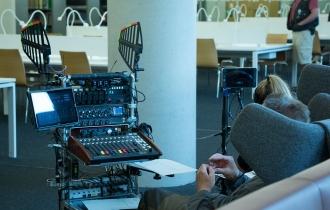 6 Die UB-Sessel wurden wohl auch vom Tontechniker für gut befunden.