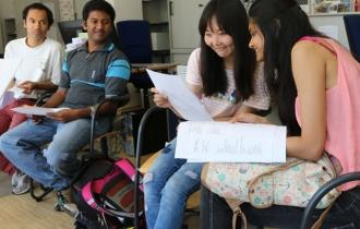 Gerade in einer Gruppe macht das Lernen doch gleich viel mehr Spaß!