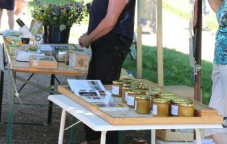 Den selbstgemachten Honig des Mundenhofs konnte man sogar an einem Stand kaufen.