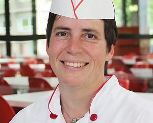 Anke Gerelt, Köchin in der Mensa Institutsviertel