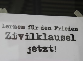 Nein zu Kriegsforschungen an der Uni Freiburg