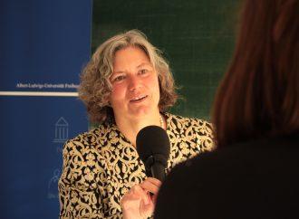 Die erste Rektorin der Uni Freiburg