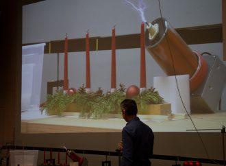 Helium-Stimmen und Wachs-Explosionen