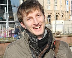 Magnus Rook, Student und Schauspieler bei Laut und Lyrik