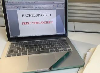 Mehr Zeit für die Bachelorarbeit