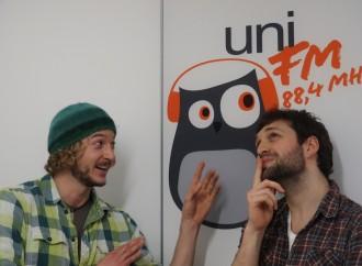 Klangreiter zu Gast bei uniFM