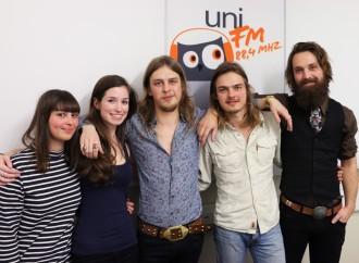 DeWolff im uniFM Studio
