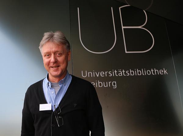 Rolf Hermkes, Bibliothekar in der UB