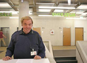 Michael Pelt, Security an der Uni