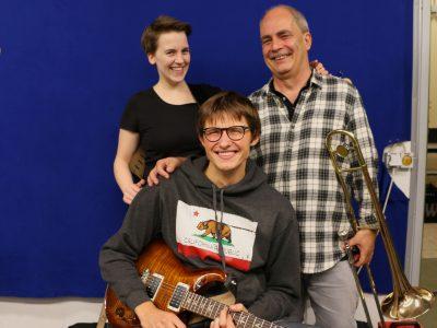 Die Gründer Rebecca, Wolf und Tobi