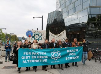 Der March for Science in Freiburg