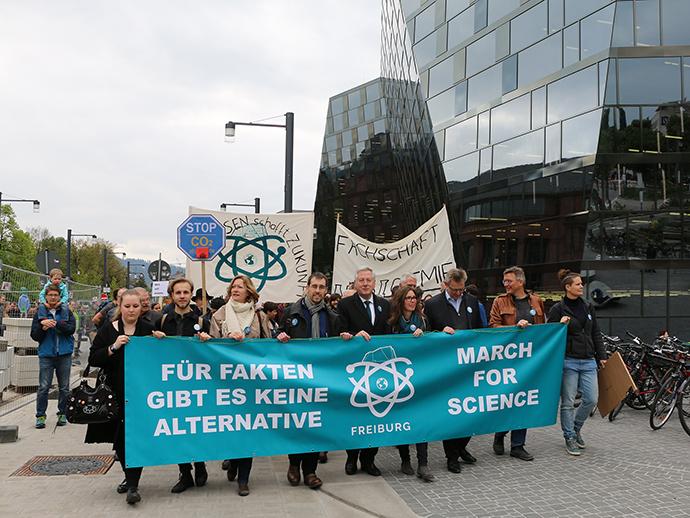 Der March for Science in Freiburg