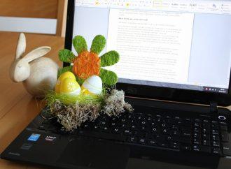 Ostereier suchen oder Lernen?