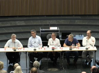 """Podiumsdiskussion """"Reichstagswahl 1932 – Bundestagswahl 2017"""""""