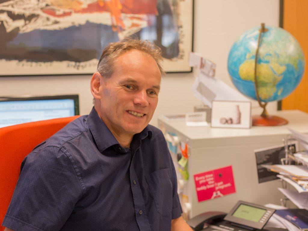 Dr. Gert Fehlner, Geschäftsführer des Englischen Seminars