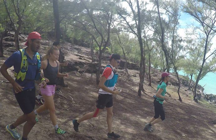 Trail Run auf Rodrigues