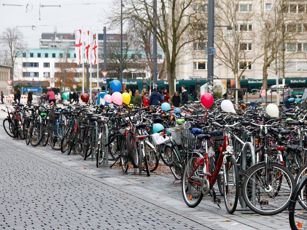 Wenn Fahrräder abheben wollen