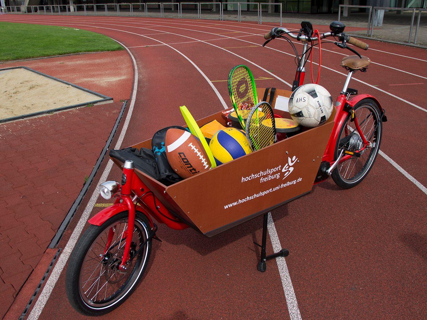 Sport und Spiel auf Rädern