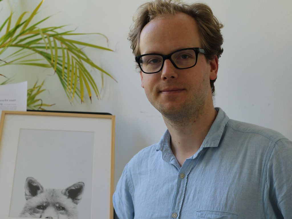 Dr. Friedrich Arndt, Leiter der Zentralen Studienberatung