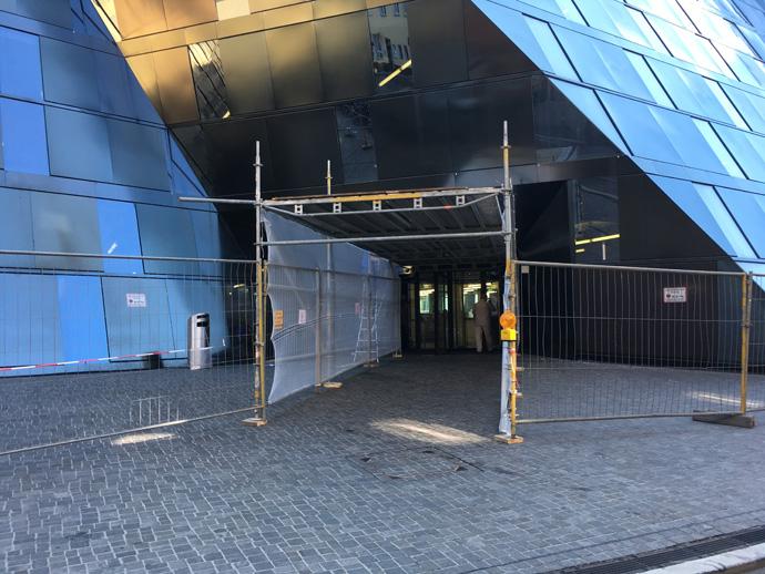 Eingang über Milchstraße wieder geöffnet