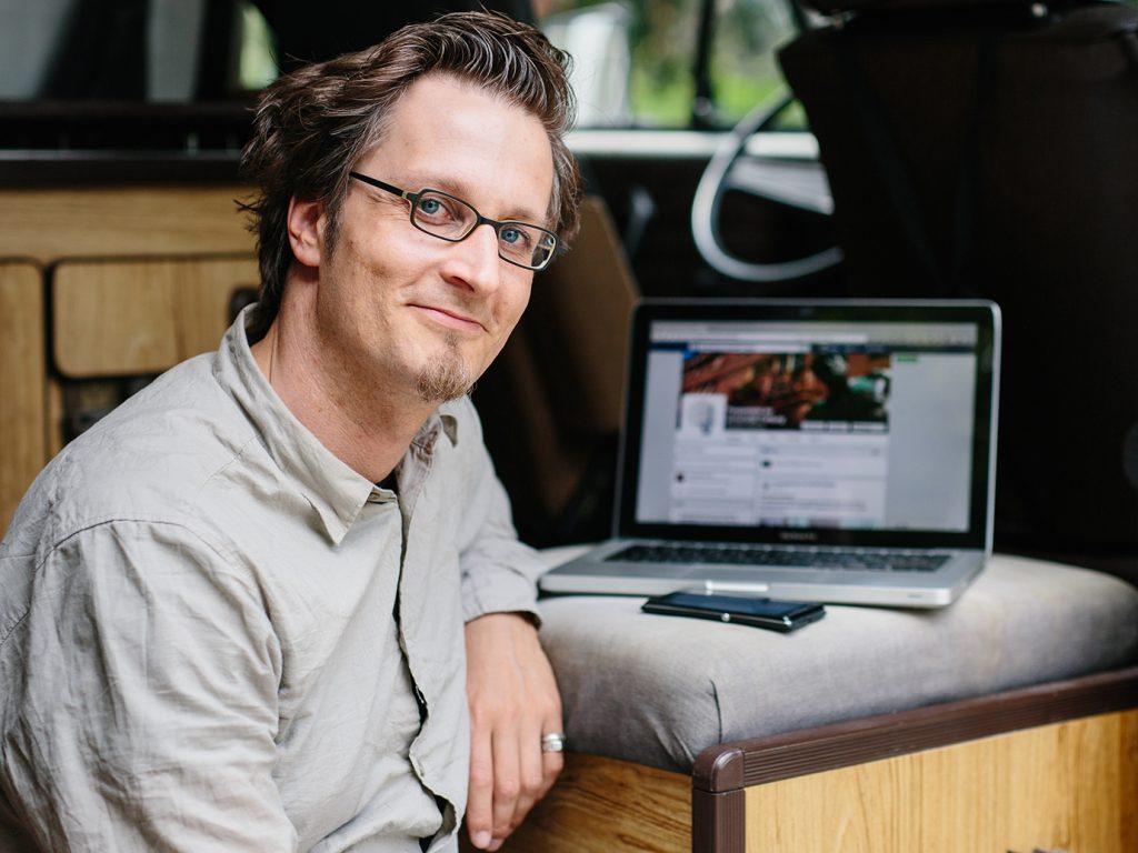 Max Orlich, Social Media Koordinator der Uni Freiburg
