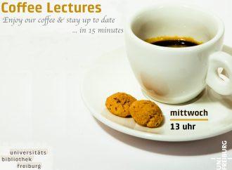 Wissensdurst stillen? Kaffee trinken!