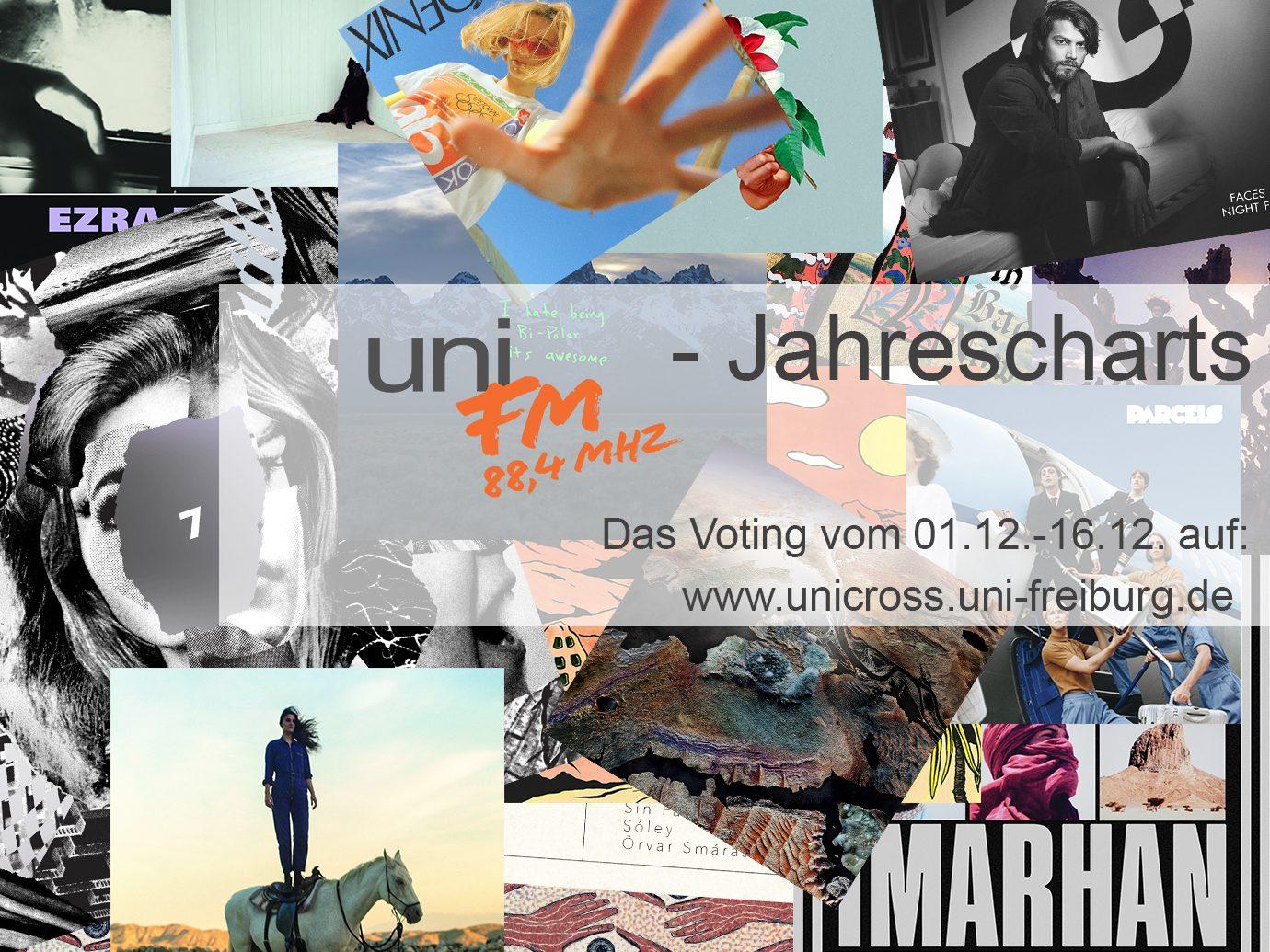uniFM – Jahrescharts!