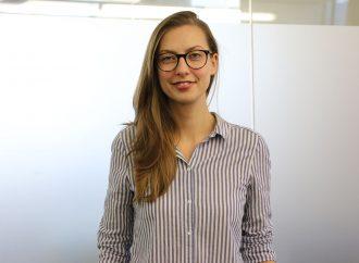Marie Hopermann, Studentin der Medienkulturforschung und Mitarbeiterin beim Medienservice