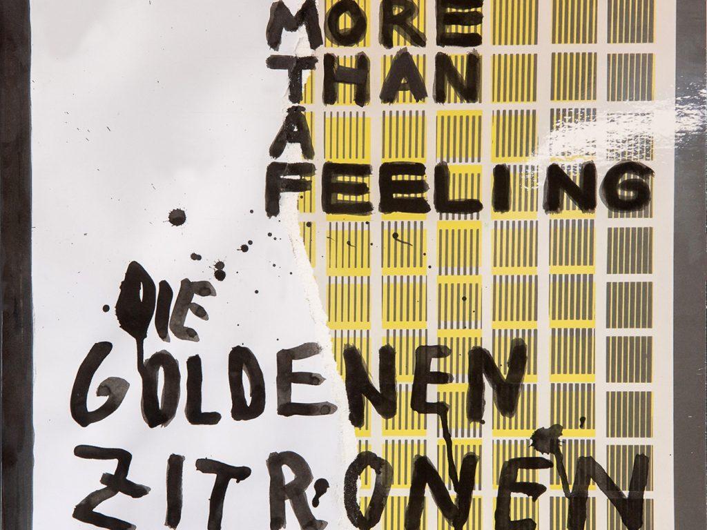 Album der Woche: Die Goldenen Zitronen – More Than A Feeling