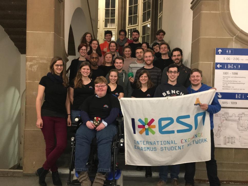 Europaweit vernetzt: ESN Freiburg