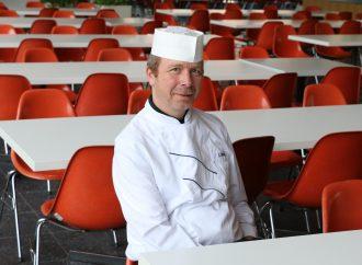 Carsten Höting, Betriebsleiter der Mensa Rempartstraße