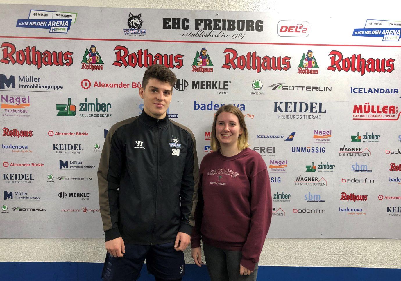 Interview mit Eishockey Torhüter Luis Benzing