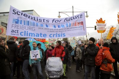 Klimaschutz: Scientists for Future
