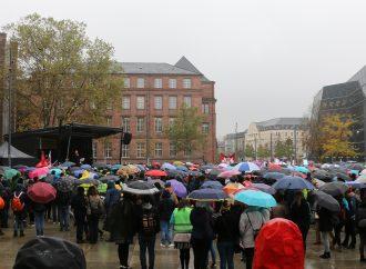 Demonstration für ausreichende Hochschulfinanzierung