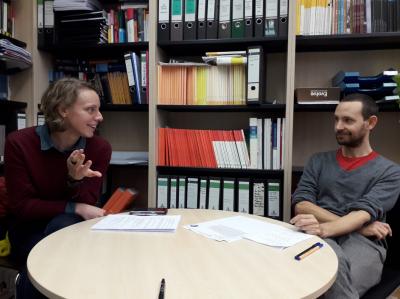 Klimaschutz: Dr. Ida Wallin und Dr. Sebastian Jäckle im Gespräch