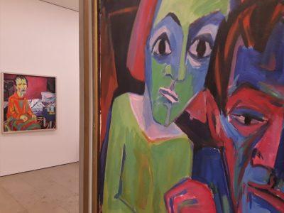 Ausstellung Expressionist Scherer