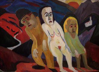 """""""Expressionist Scherer"""" – Ausdrucksmittel Form und Farbe"""