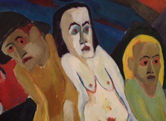 Expressionist Scherer: Form und Farbe