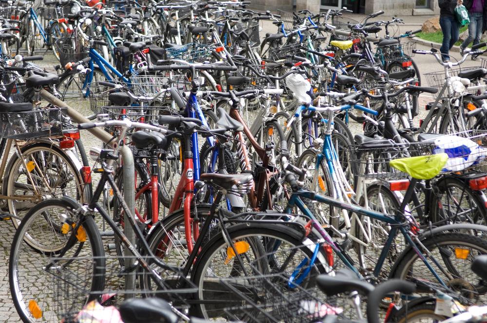 Versteigerung von Fahrrädern